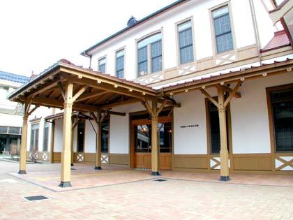 旧)軽井沢駅舎記念館